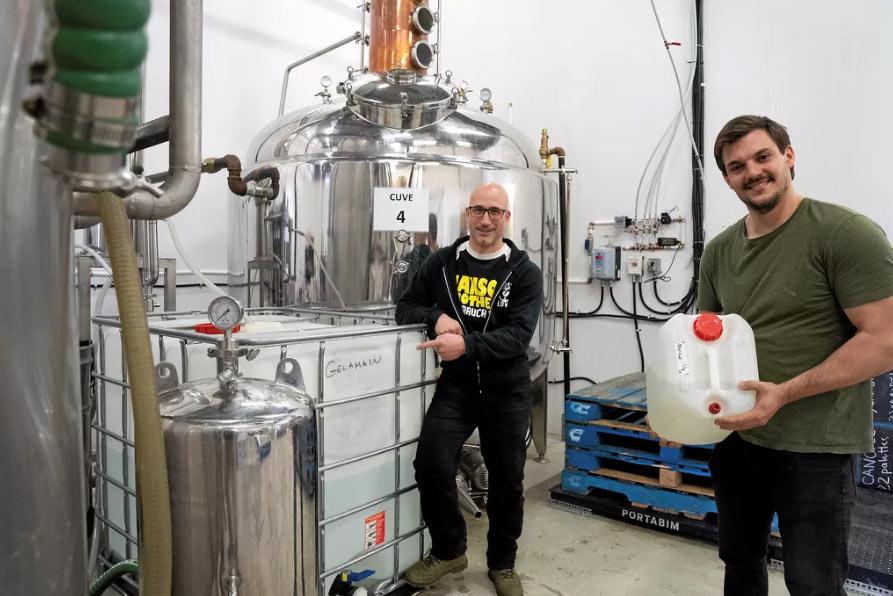 De la bière transformée en désinfectant pour des CPE