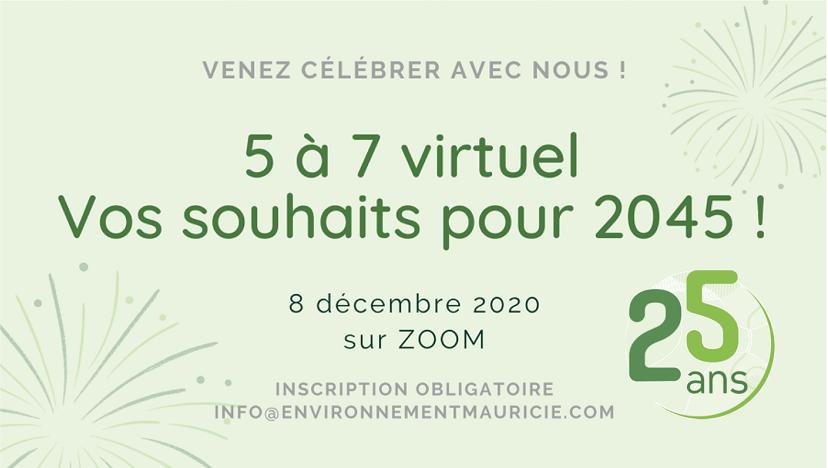 5 à 7 virtuel: vos souhaits pour 2045