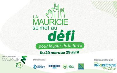 La Mauricie se met au défi: une mobilisation collective pour l'environnement